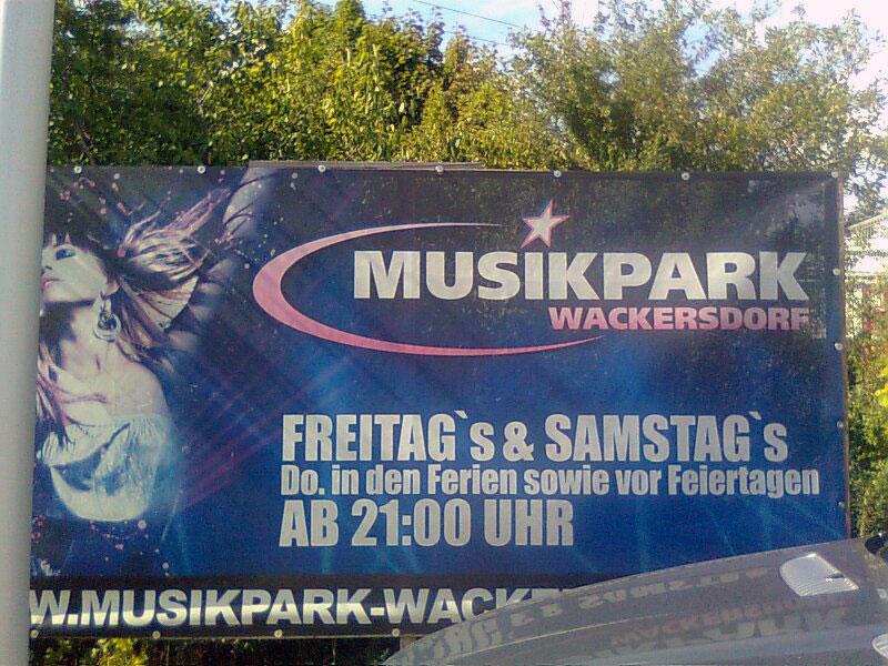 Musikpark Wackersdorf Fotos